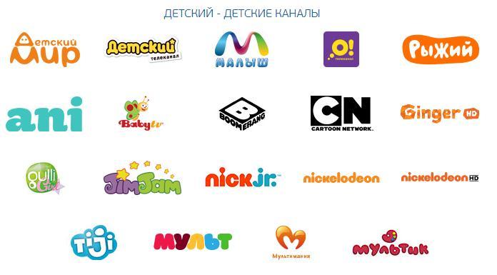Детские каналы на Триколор ТВ
