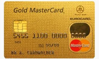 Золотая кредитная карта Мастеркард Голд от Сбербанка